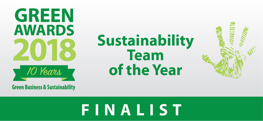 Green Awards 2018 - Sustainability Team of The Year